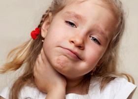Боль при глотании у детей