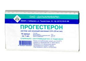 Progesterone delaying period